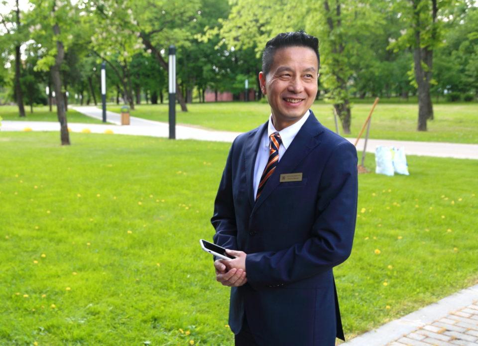 Директор отеля «Пекин» Цуй Чанцзян: «Белорусский эффект wow для китайцев – это безопасность и мало людей!»