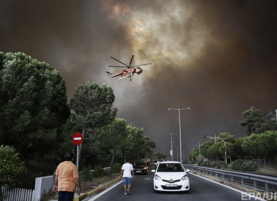 Георгий Масманидис, «Музенидис Трэвел» о ситуации в Греции: «Белорусские туристы находятся вне зоны пожаров»