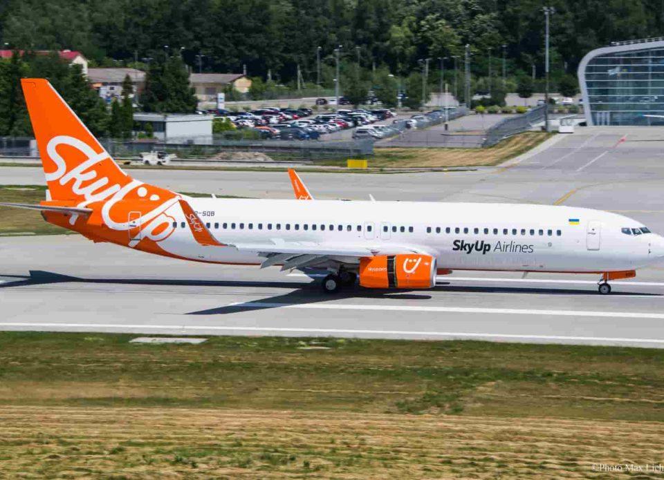 Украинская авиакомпания SkyUp с 27 июля отменяет ряд чартерных рейсов в Турцию