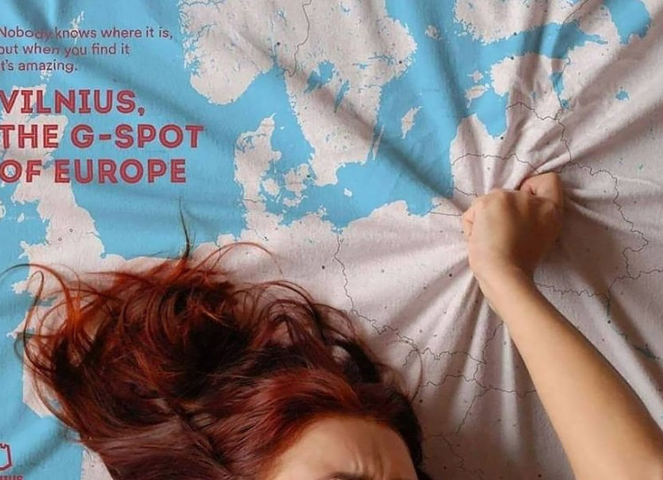 Литва запустила рекламную кампанию «Вильнюс— точка G Европы»