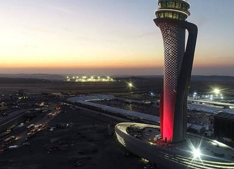 В Стамбуле открыли аэропорт, который сможет принимать 200 миллионов пассажиров в год