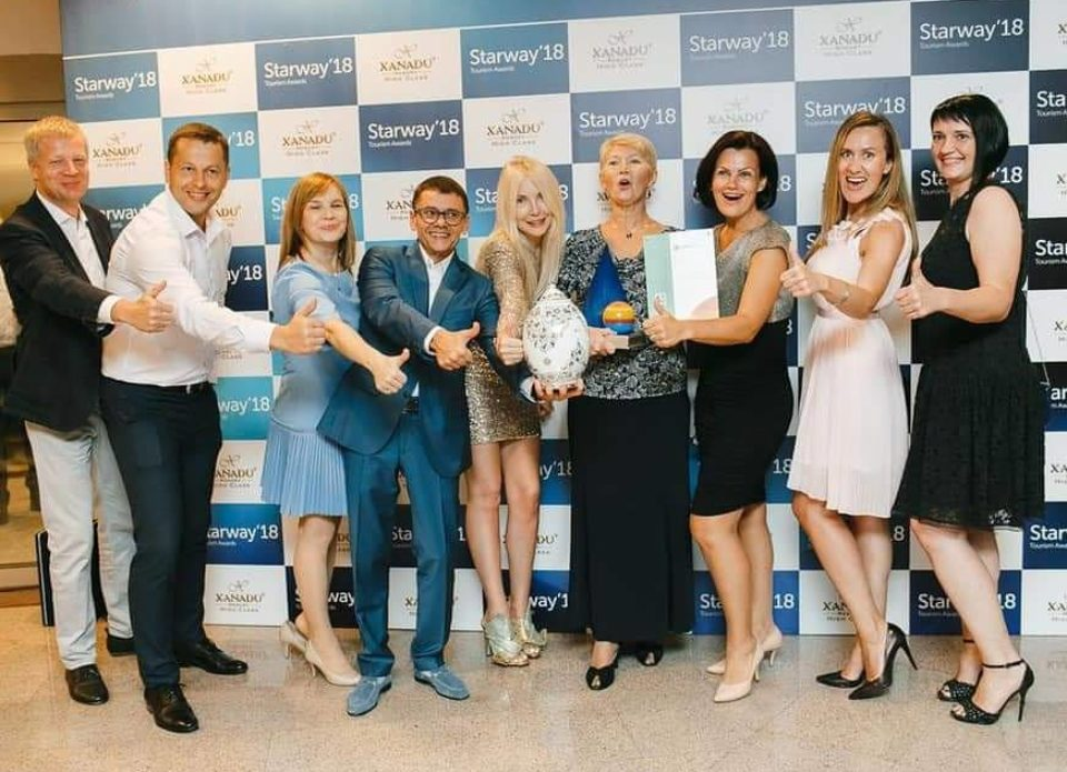 Премия STARWAY 2018: Coral Travel вручил награды лучшим белорусским турагентствам