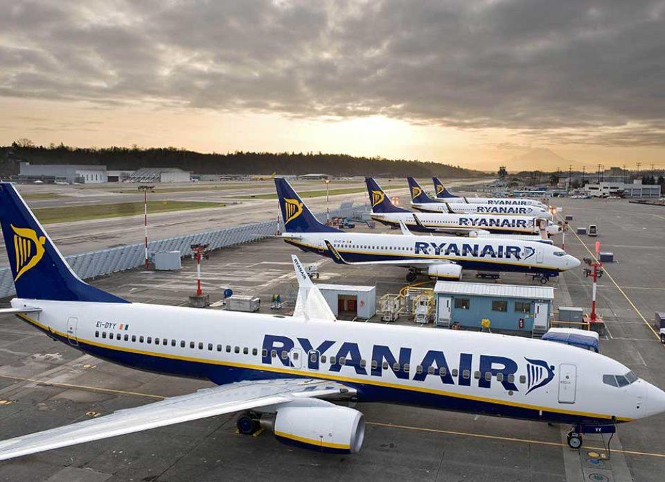 Ryanair начал летать из Киева в Лондон, Барселону, Братиславу и другие города