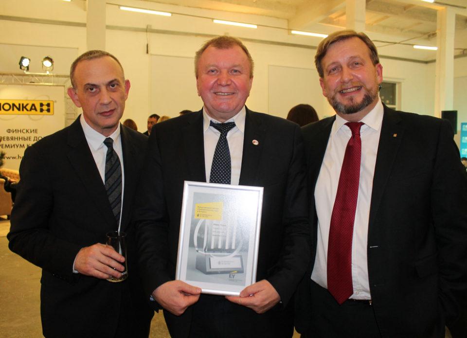 Иван Чура стал финалистом конкурса «Предприниматель года»!