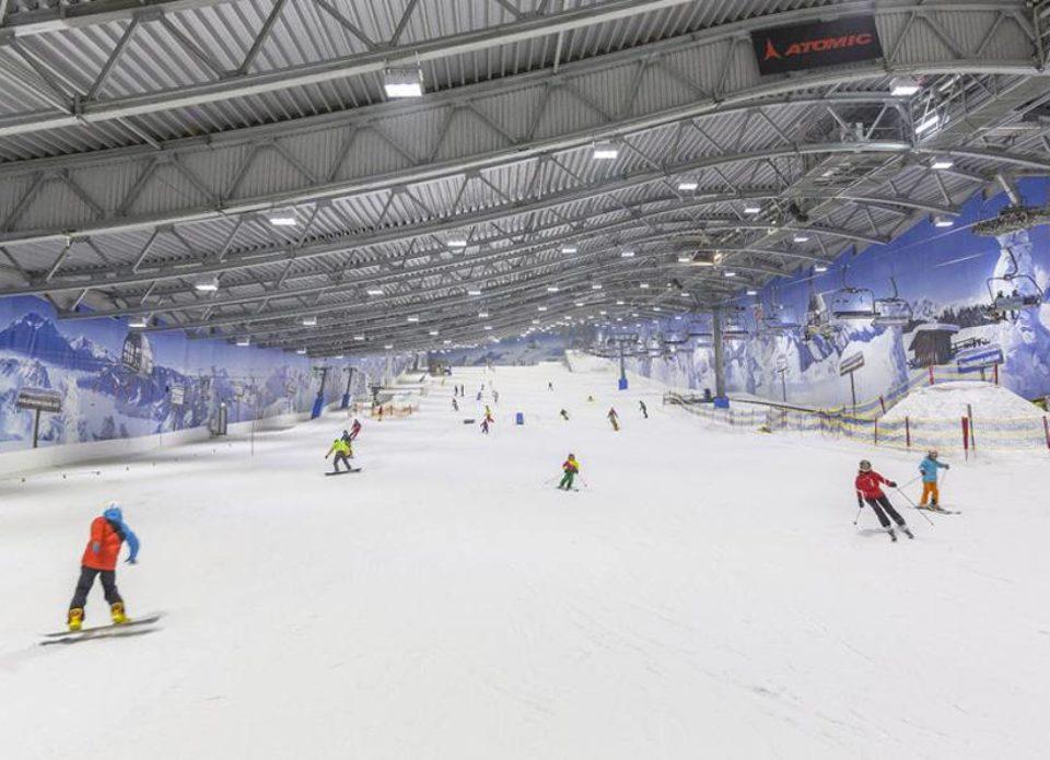 В Минске построят крытый лыжный манеж