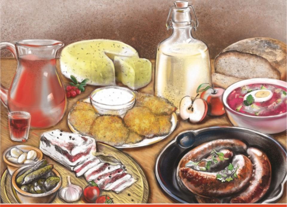 Вышла в свет книга «Белорусская кухня. Гастрономический путеводитель»