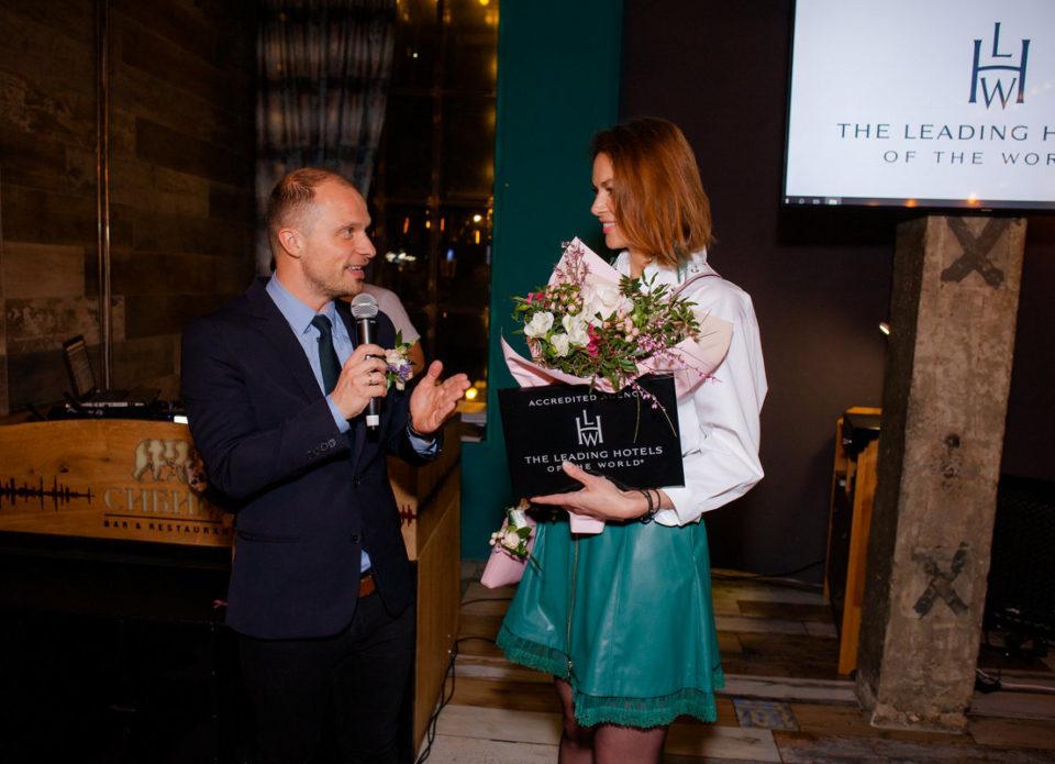Наталья ШАРЕПО: «Мы доверяем качеству отелей The Leading Hotels of the World»