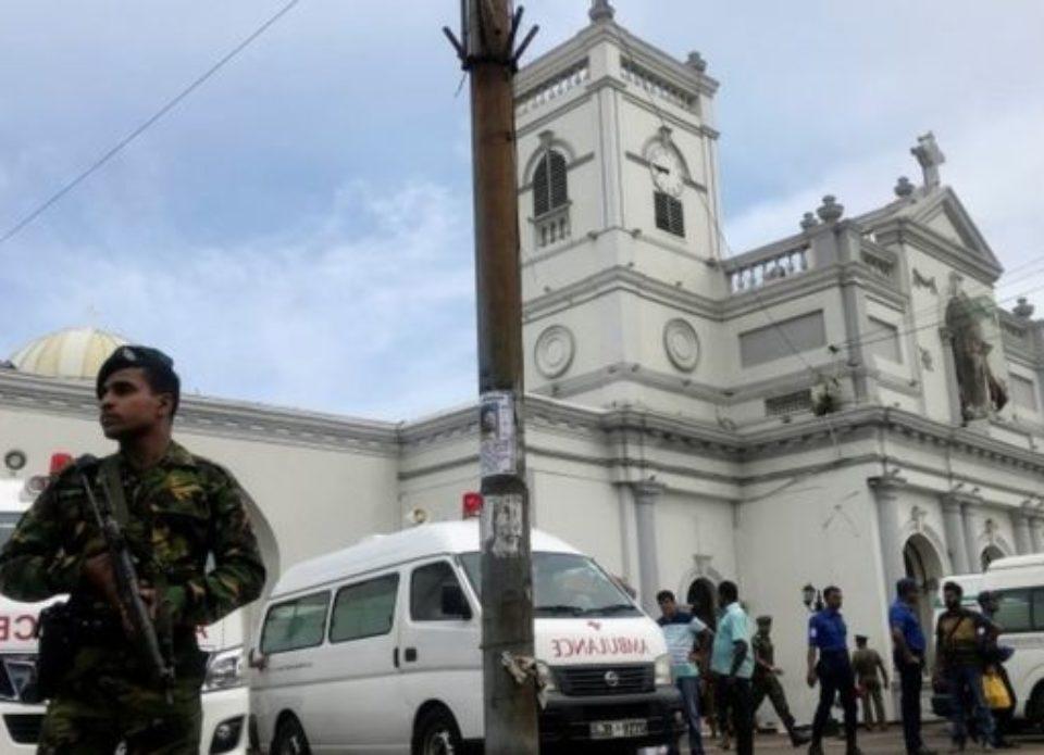 На Шри-Ланке произошло 7 взрывов в церквях и отелях