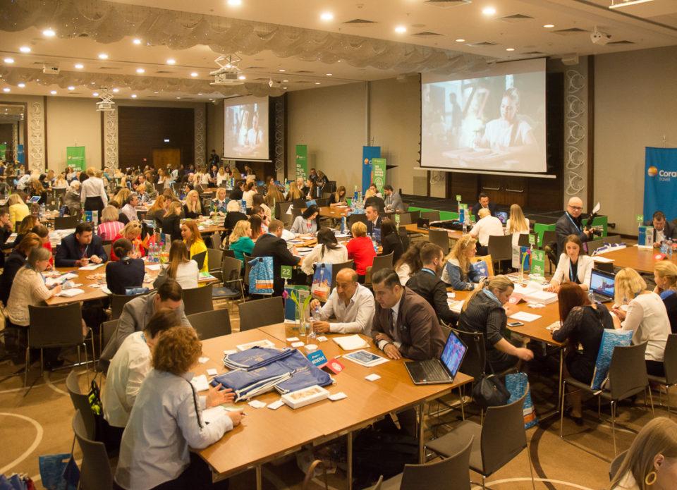 Coral Travel провел в Минске грандиозное мероприятие для агентов «Brainstorm for Professionals»