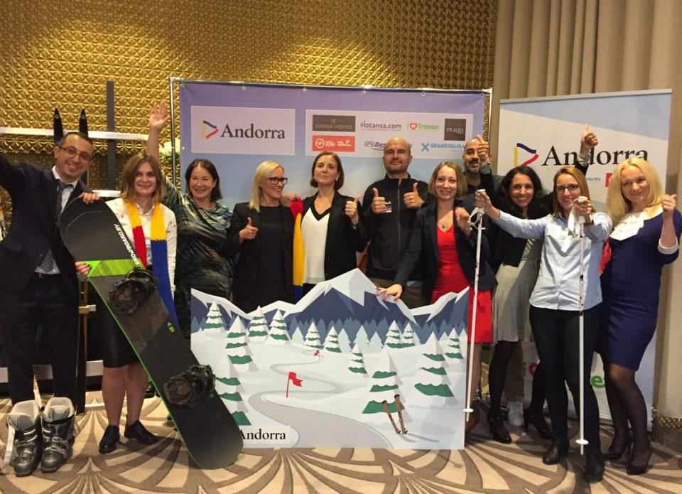 «АэроБелСервис» и «Вояжтур» презентовали Андорру – рай для горного туризма
