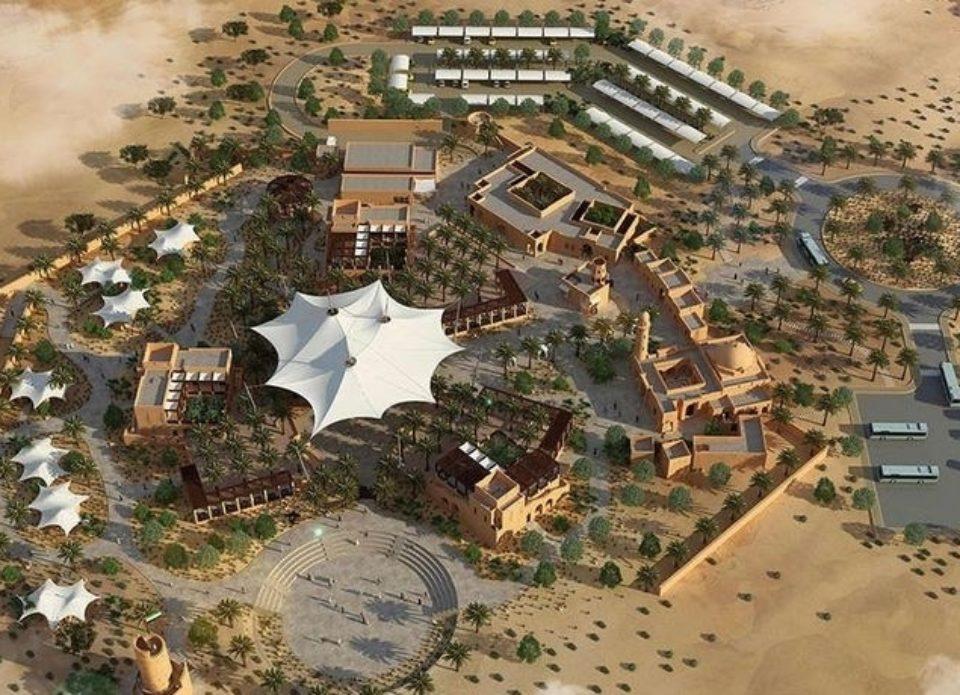 В ОАЭ посредипустыни открылся шикарный отель «Оазис»