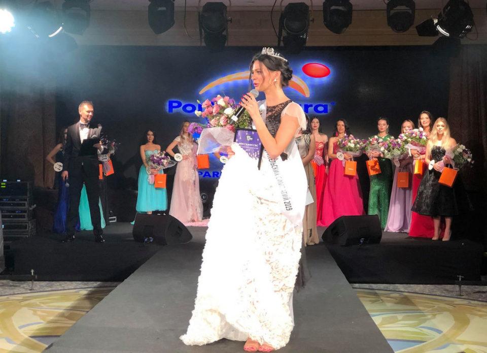 Белоруска Виктория Антоненко стала «Мисс&Миссис Зрительских Симпатий» на конкурсе красавиц туризма