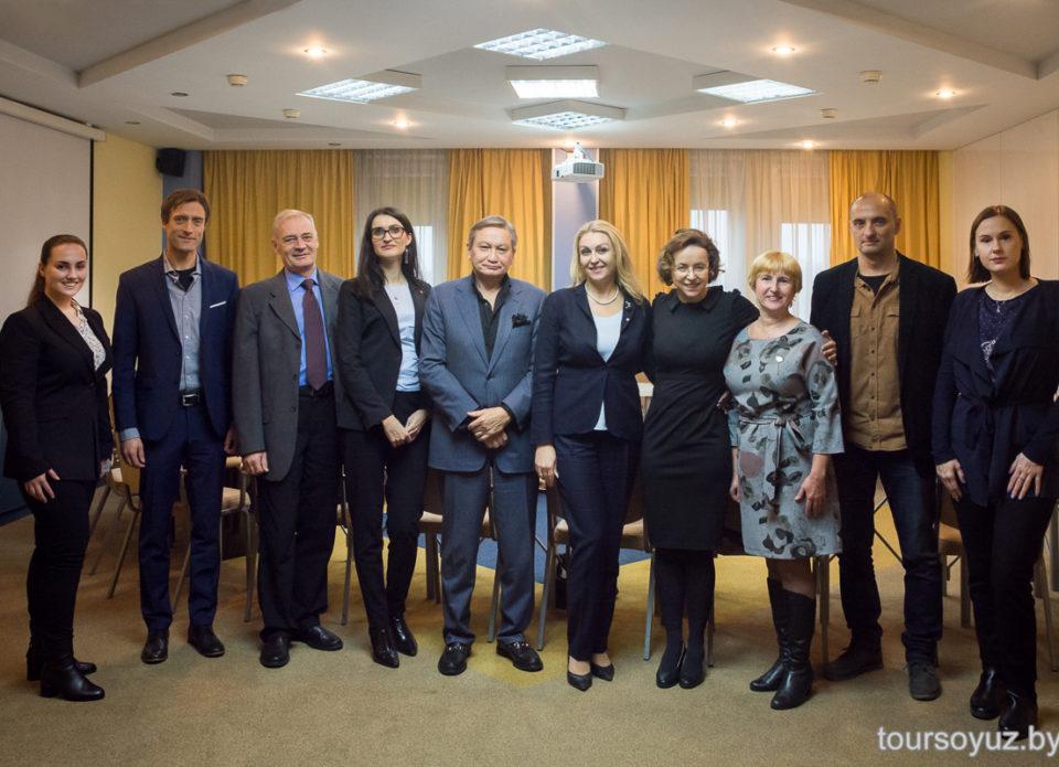 О чем Посол Австрии в Беларуси Алоизия Вергеттер говорила на встрече с РСТО