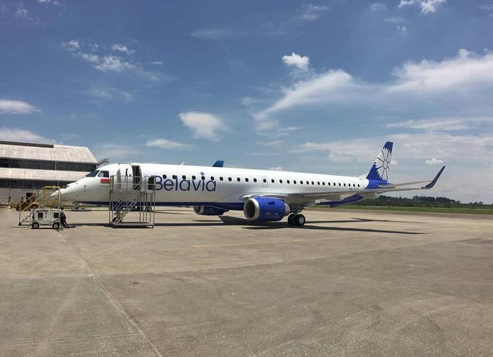 Флот авиакомпании «Белавиа» пополнился еще одним новым самолетом Embraer-195