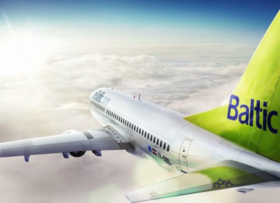 airBaltic возобновляет регулярные рейсы с 13 мая