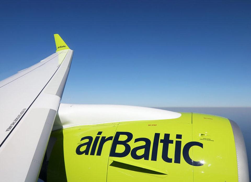 АвиакомпанияairBalticпродолжает пополнять карту полетов