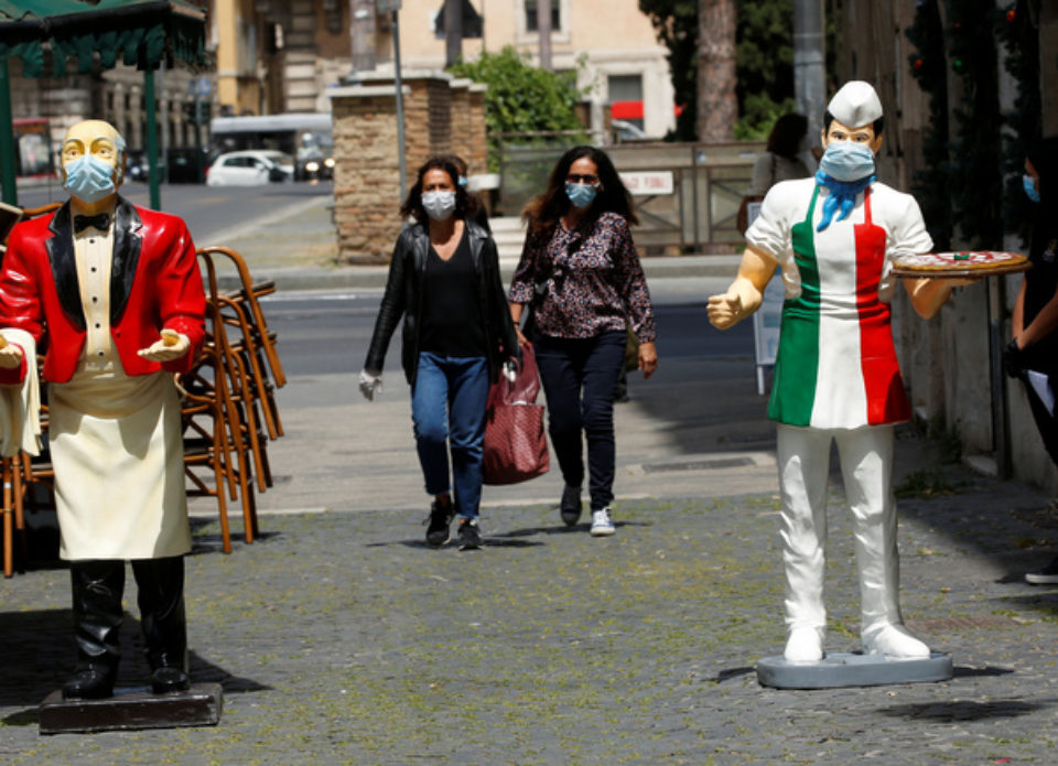 Программа первого этапа выхода итальянского туризма из карантина