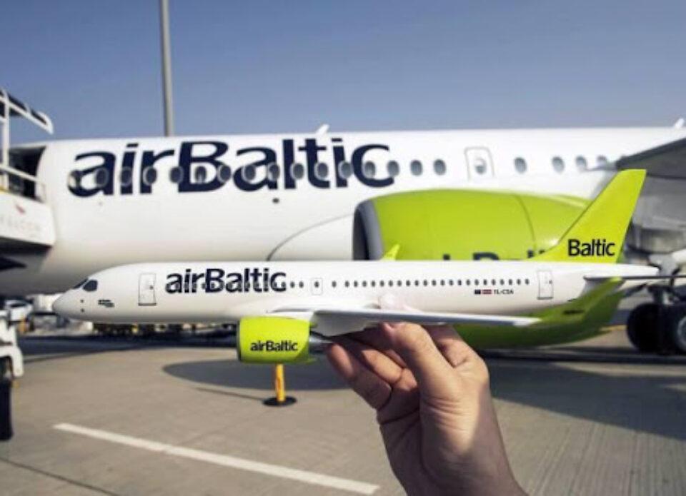 airBalticначинает летать в Минск с 14 сентября