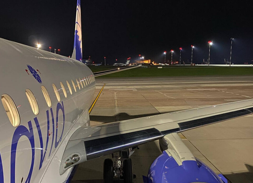 Новый Embraer-175 пополнил флот «Белавиа»