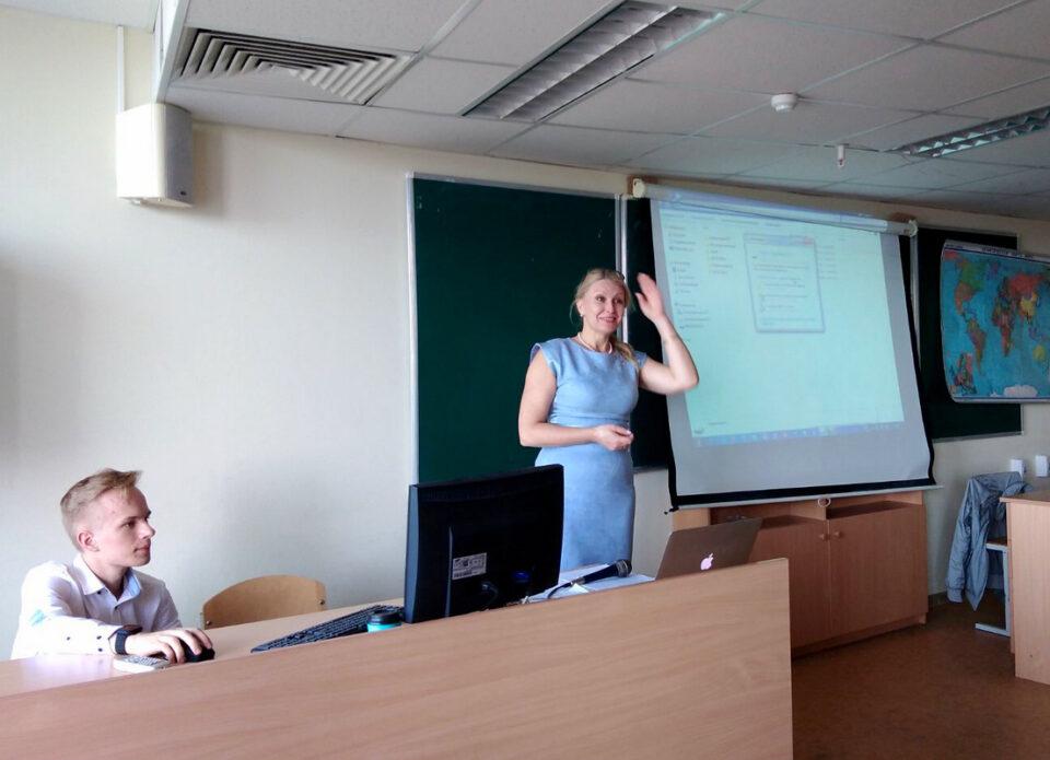 Глава Совета РСТО выступила перед студентами кафедры международного туризма