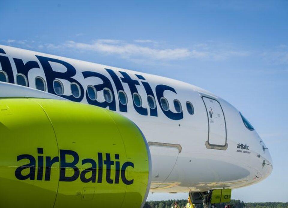 airBaltic предлагает поучаствовать в лотерее