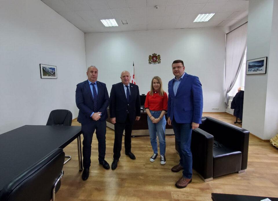 Состоялась встреча Председателя Правления РСТО с Послом Грузии