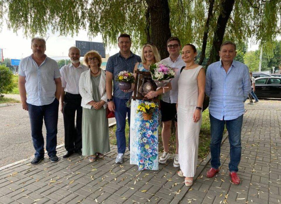 РСТО поблагодарил Оксану Бичун за проделанную работу