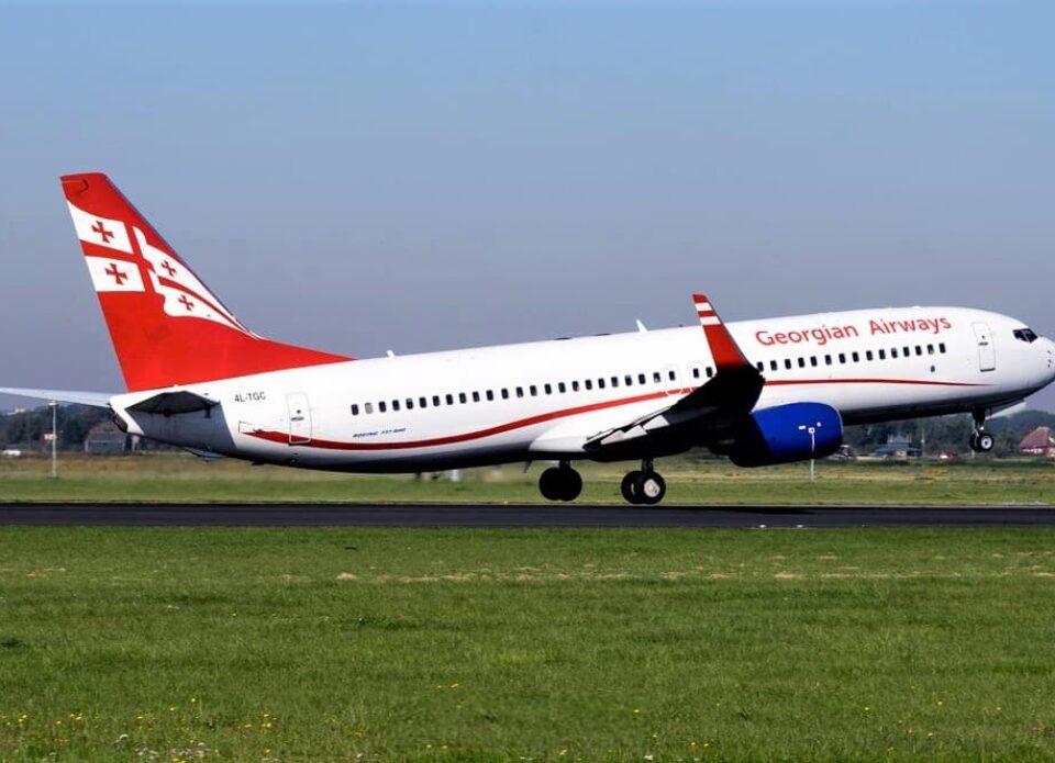 Georgian Airways будет летать в Минск три раза в неделю
