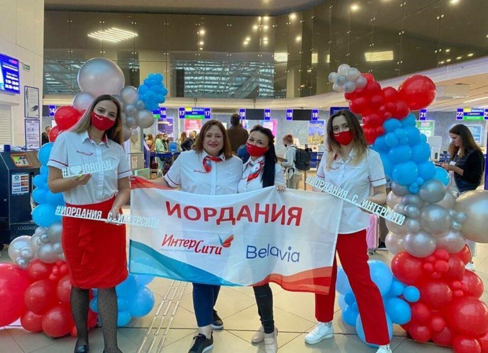 3 сентября состоялся первый чартерный рейс из Беларуси в Иорданию